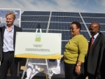 Inauguration of the Droogfontein Solar Power Plant